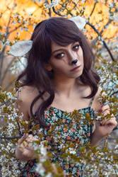 Bambi cosplay - White Fox - Natalia - 003 by Araiel