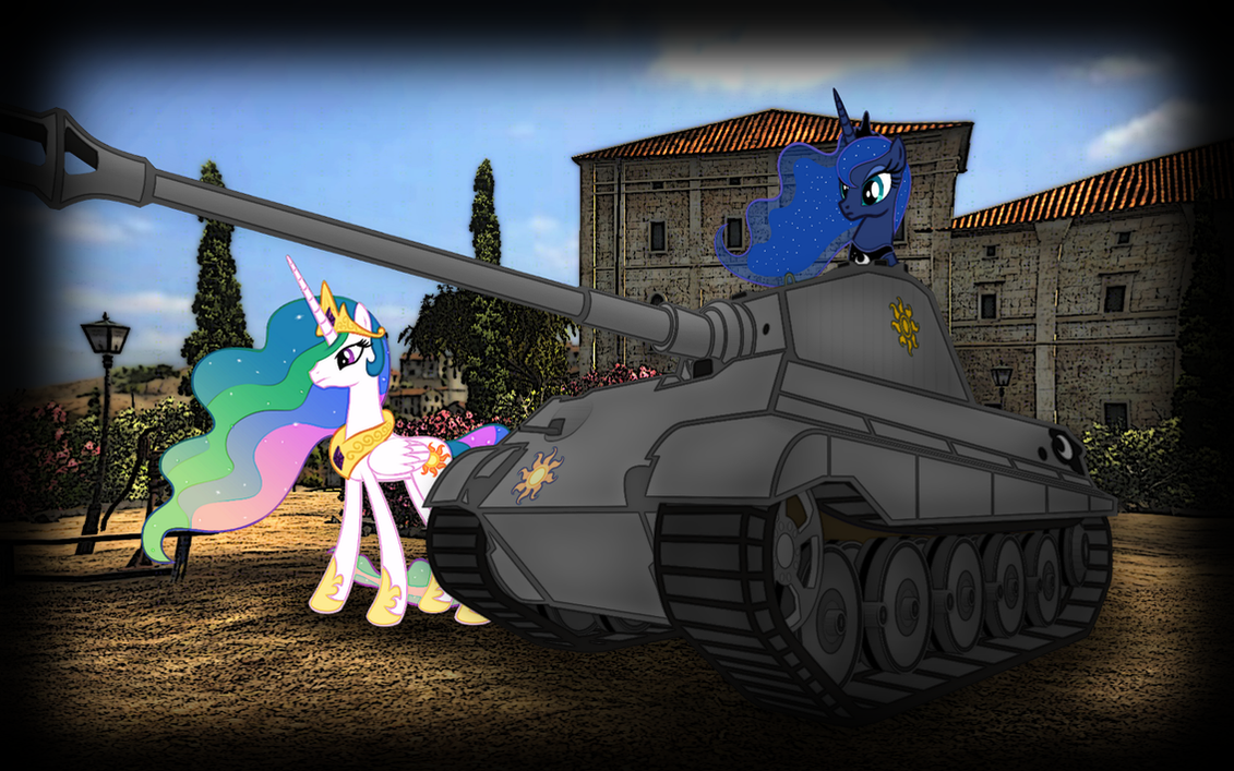 world of tanks my little pony mod
