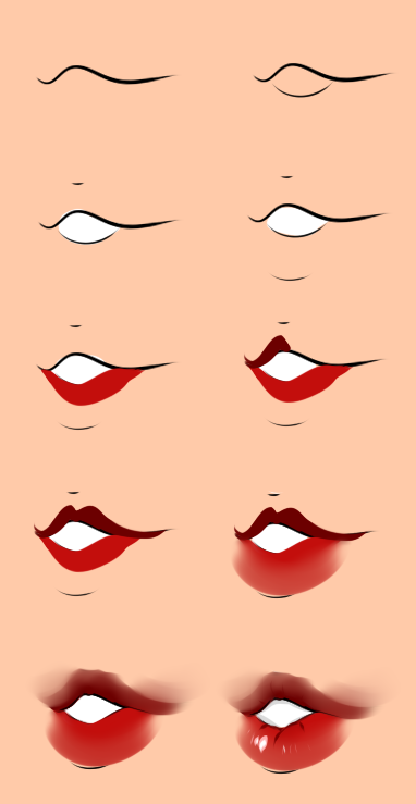 Lips by cam070