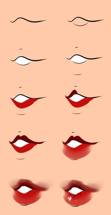 Lips by zamii070