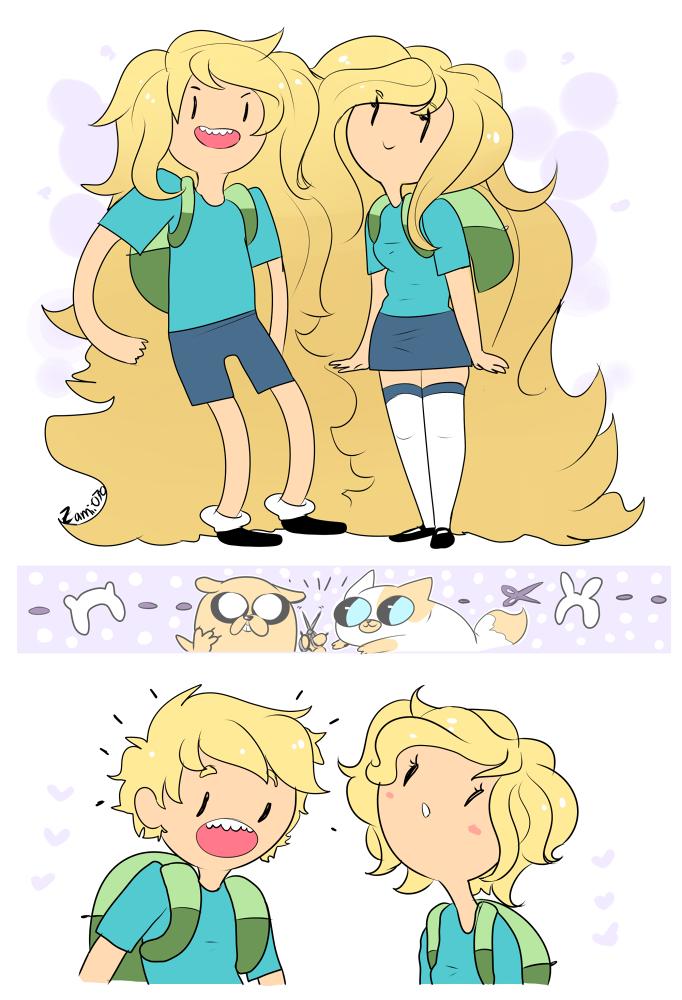 AT: Hair by zamii070