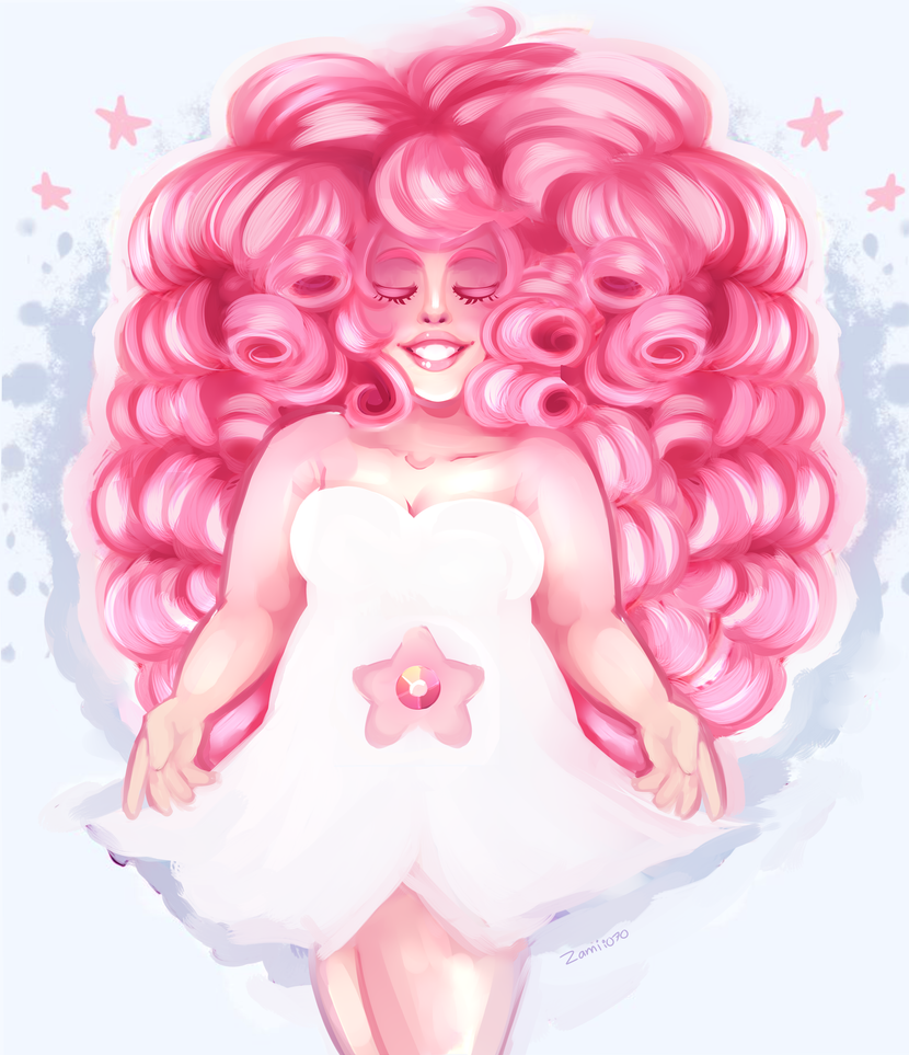 Rose Quartz by Zamiiz