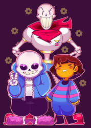 Undertale by Zamiiz