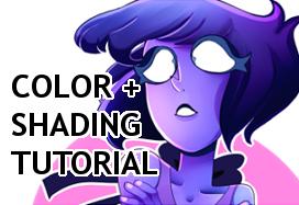 Coloring and Shading Tutorial-Walkthrough by Zamiiz