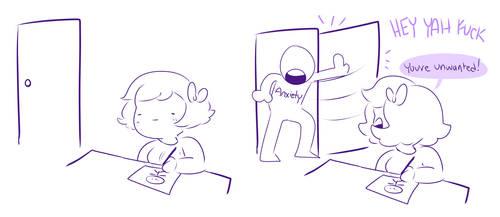 Anxiety by Zamiiz