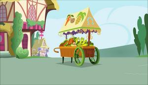 [Background] Veggie cart by TriteBristle