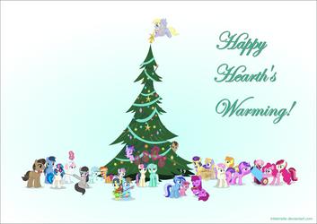 Happy Hearth's Warming! 2014 by TriteBristle