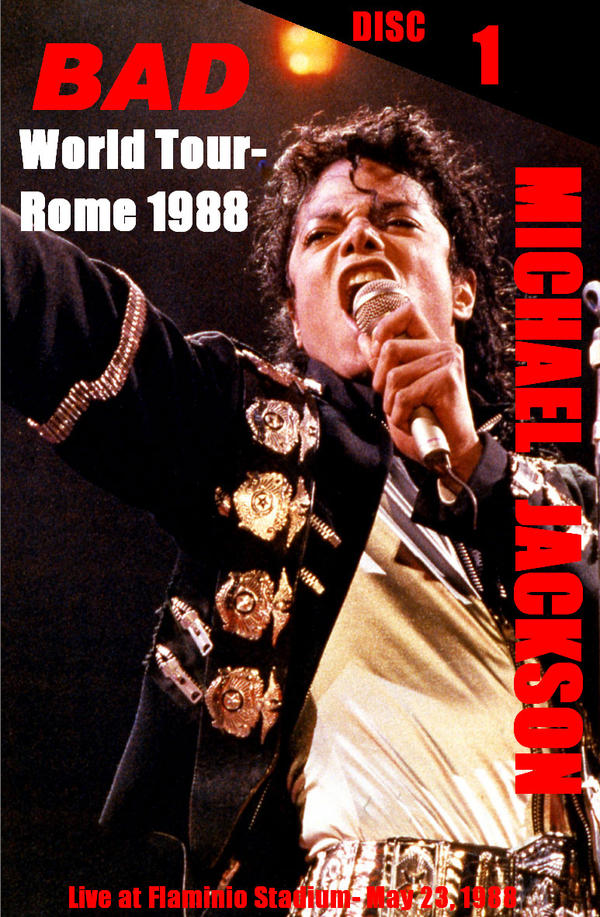 MJ Bad Tour Rome 1988 by Prince-of-Pop on DeviantArt