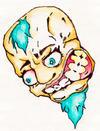 SHOCKED SKULL-MAN by kreative