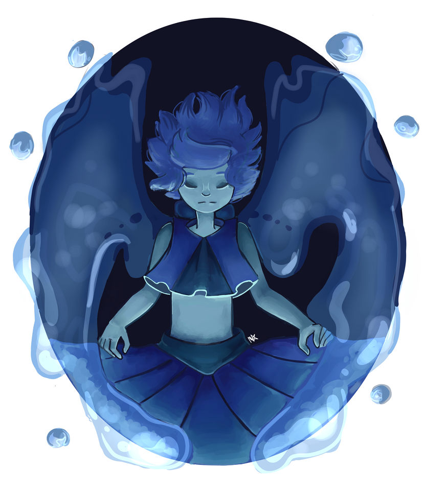 Hi! I decided that I was going to do some more fan art from Steven Universe, so I decided on Lapis Lazuli, I really hope you like it. I also recorded a speedpaint. Speedpaint: youtu.be/WaGoiq5...