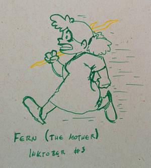 #Inktober 2017 - Fern Green