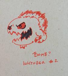 #Inktober 2017 - Bomb by pro-mole
