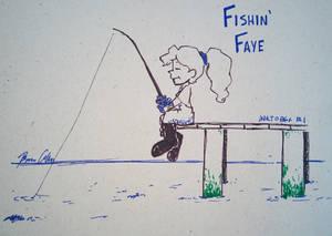 #Inktober 2017 - Fishin' Faye