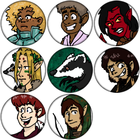 DnD Party - A Token Montage by pro-mole