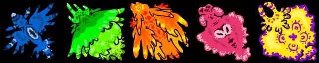 Dnd Monsters - Sea slugs by pro-mole