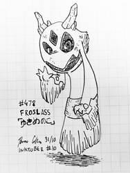 Inktober 2019 #11 - Froslass
