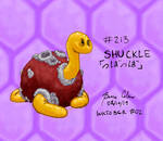 Colored Inks #02 - Shuckle