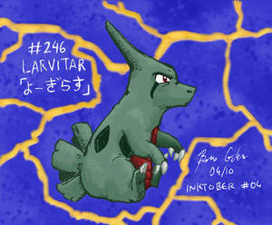 Colored Inks #04 - Larvitar