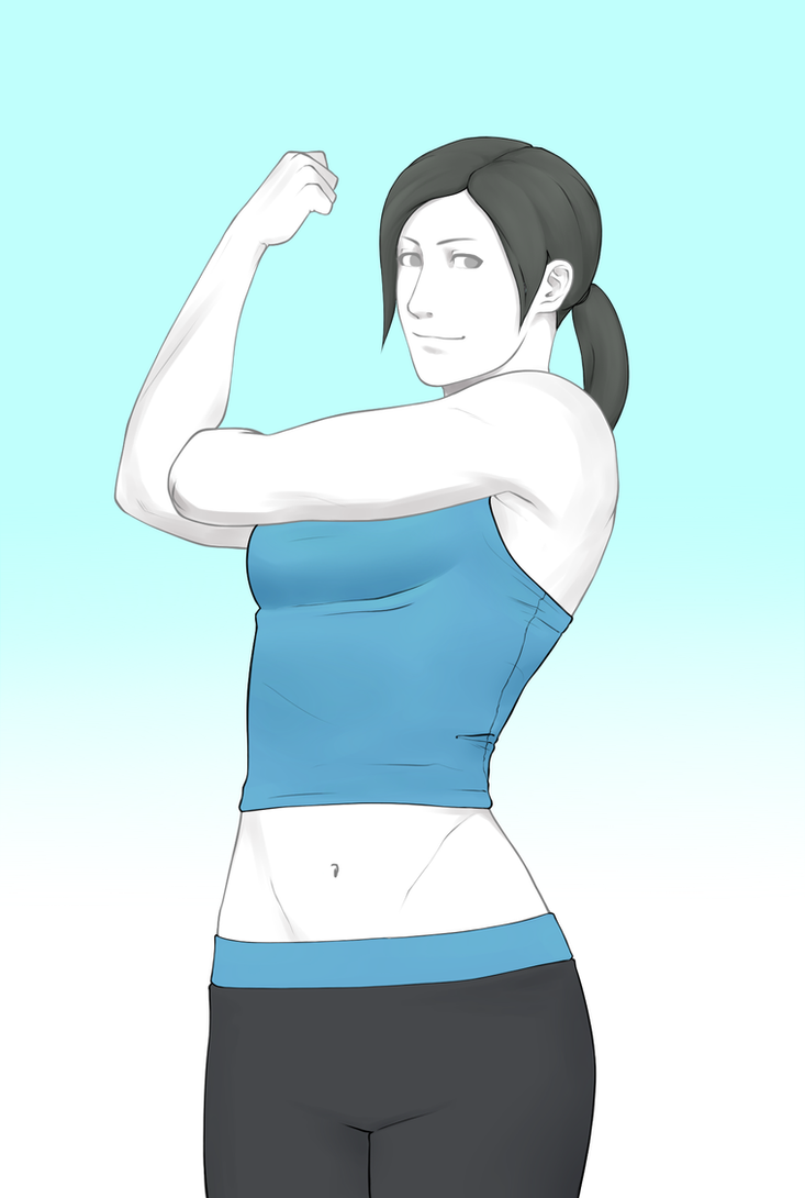 Wii Fit Trainer by Snowman1940