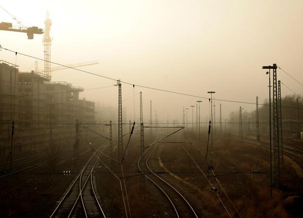 industrial city by keepballin