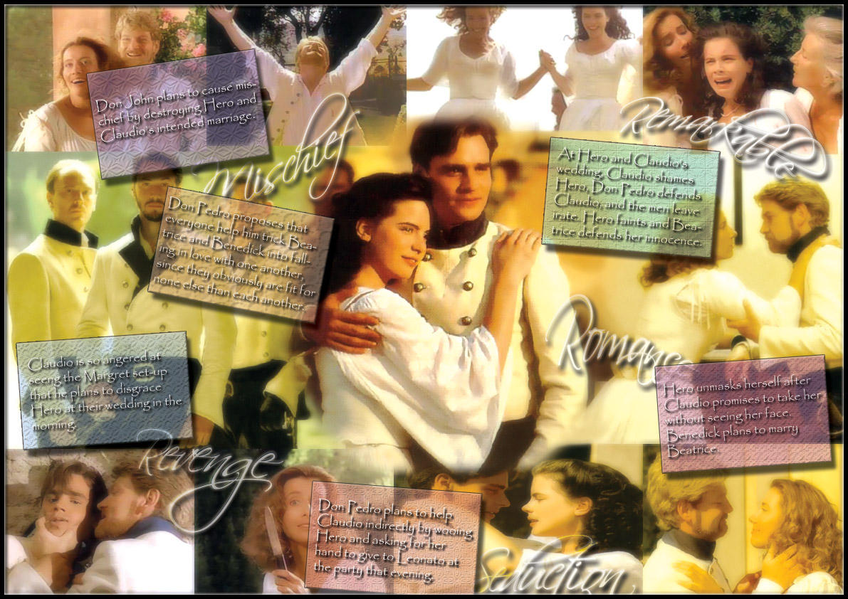 much ado about nothing collage by icecee on much ado about nothing collage by icecee