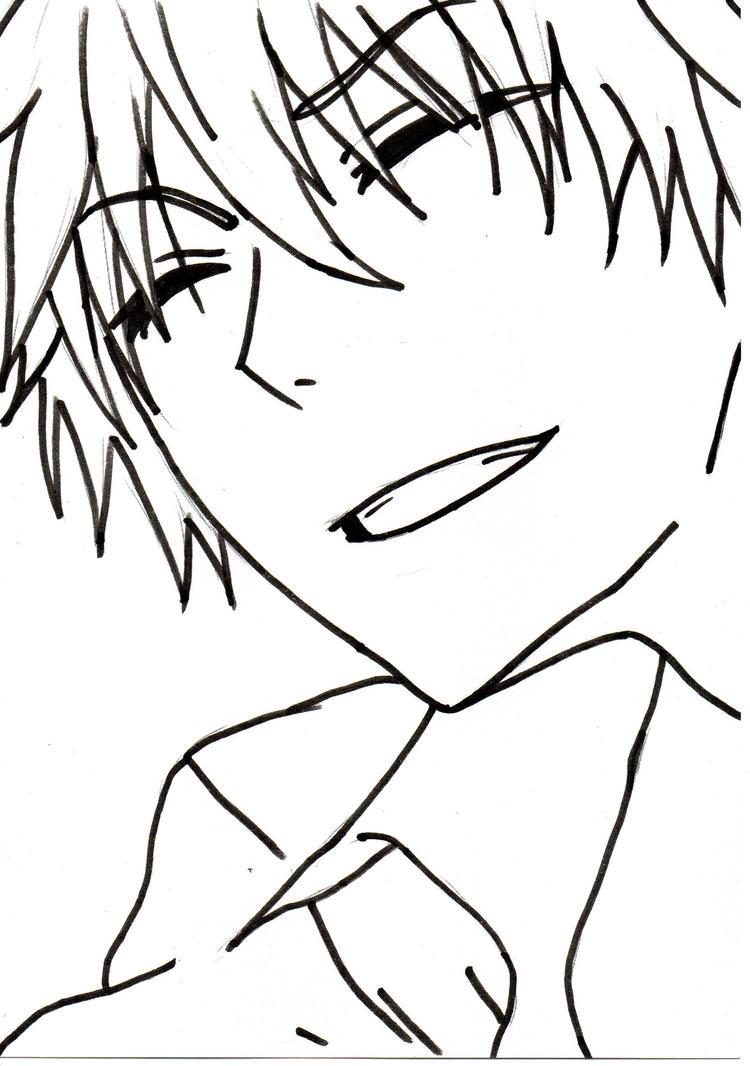 Anime Guy By Rosiervskai On DeviantArt