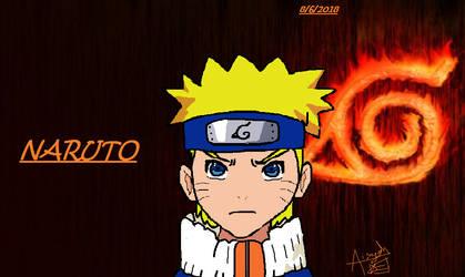 Naruto Fanart by CloverKitty101