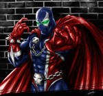 Spawn Fan Art by R.A.M. Painted