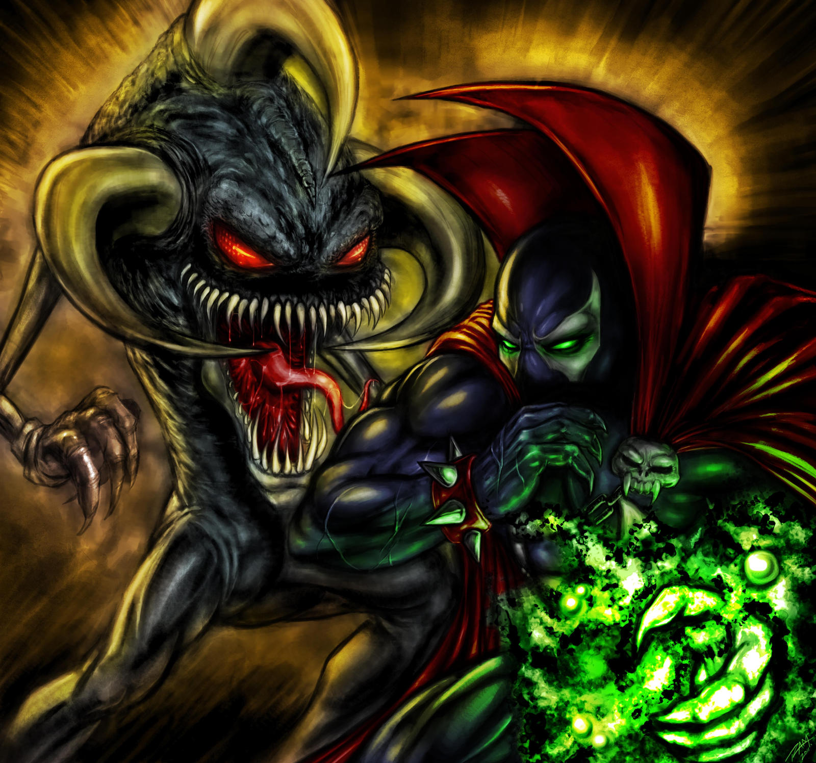 Violator Sneaking Up On Spawn By RAM Robertmarzullo