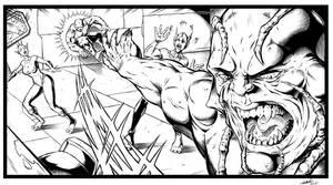Blackstone Comic Book 1 Page 14 Panel Change