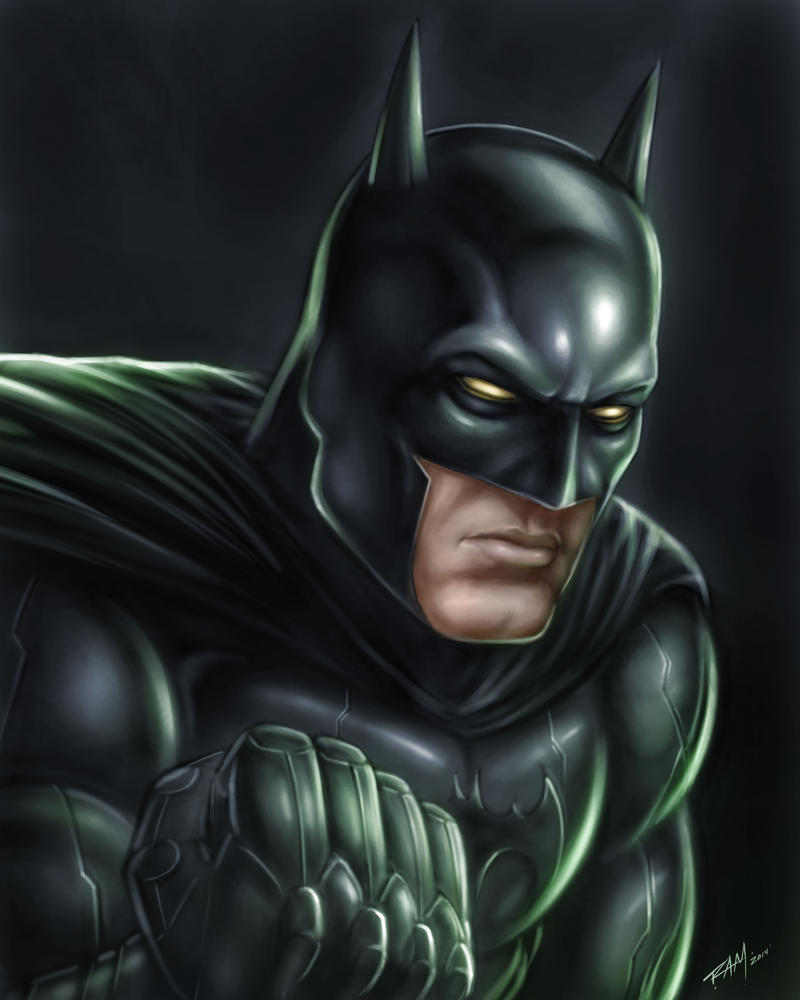 Batman Painting by ramstudios1