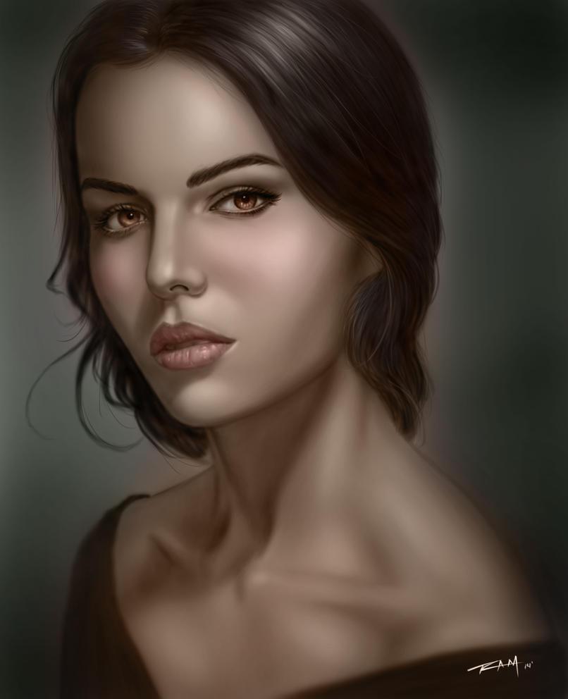 Portrait Study by RAM by ramstudios1