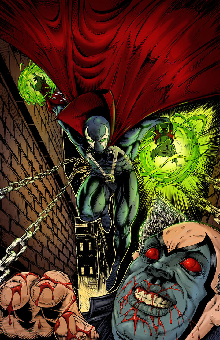 Spawn Lucky 13 Contest Submission Colors by RAM by robertmarzullo