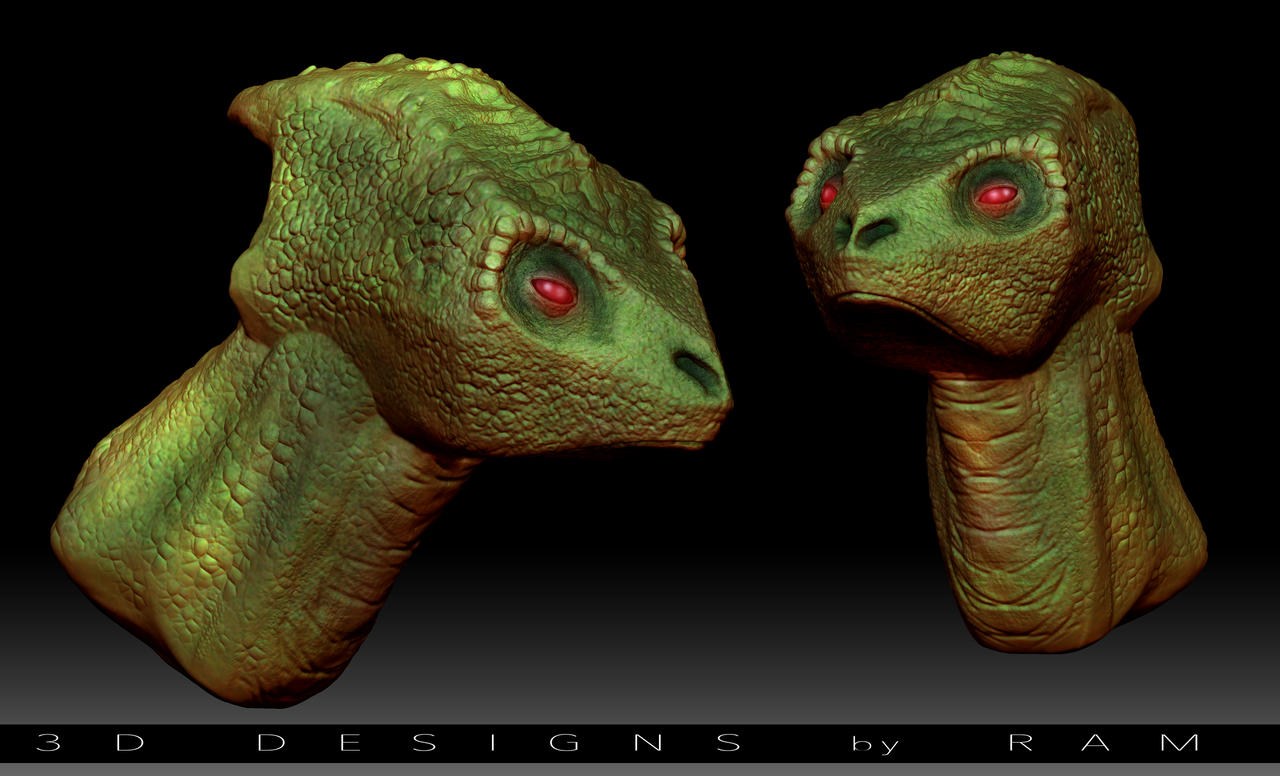 Reptile Concept Creation 3d By Ram By Robertmarzullo On