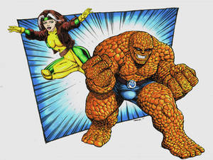 Rogue and The Thing Colors