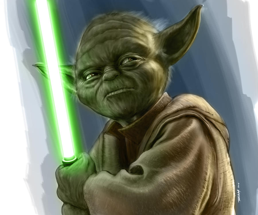 Master Yoda by robertmarzullo