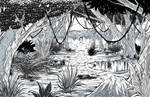 How to Draw a Jungle Landscape