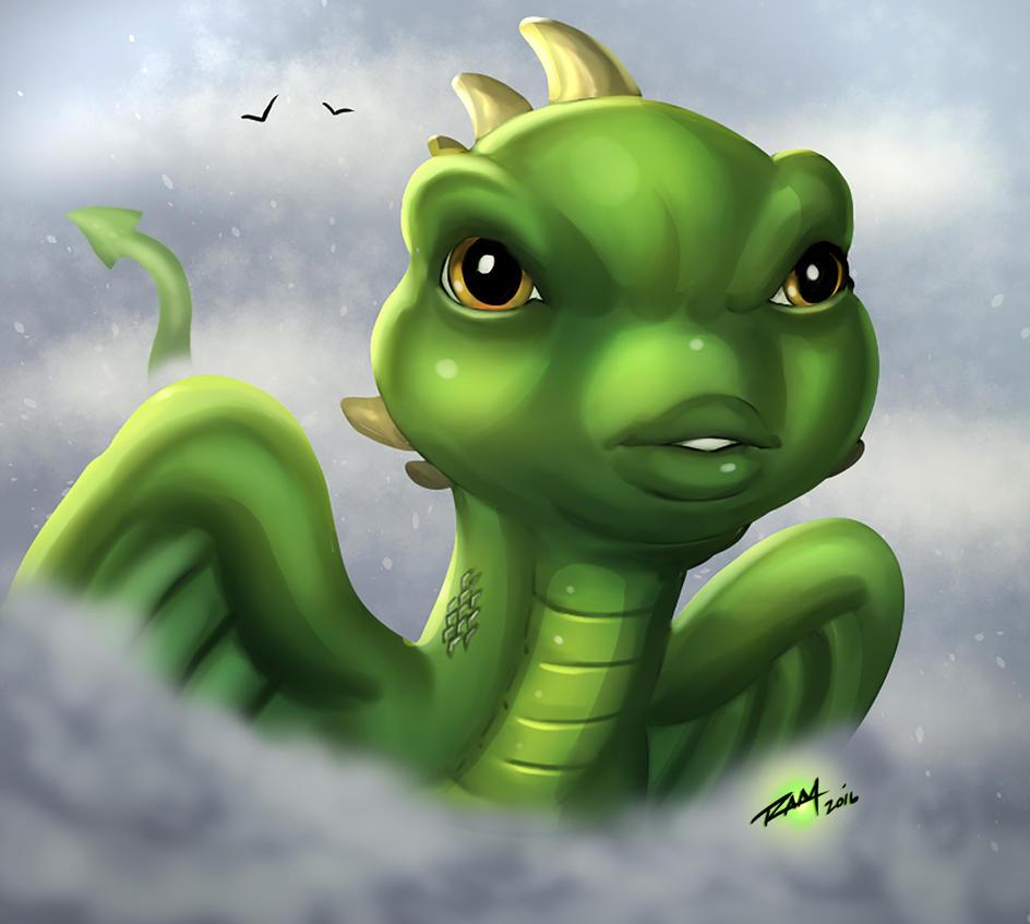 Baby Dragon by robertmarzullo