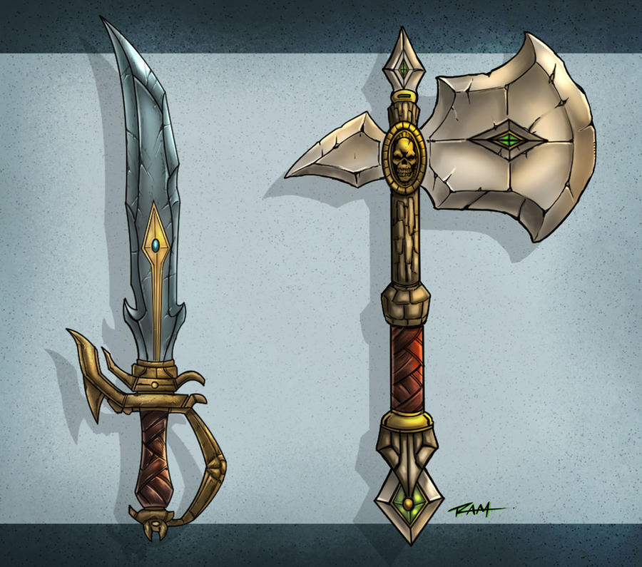 Weapon Art by RAM by robertmarzullo