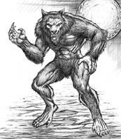 Werewolf by robertmarzullo
