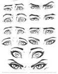 Eye Expressions Male and Female