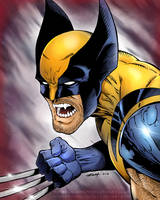 Wolverine - Colors by robertmarzullo