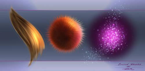 Hair - Fur - Magic Effect Custom Brushes