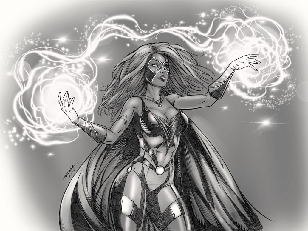 Wielding Magic by robertmarzullo