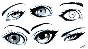 Eyes 6 Different Styles