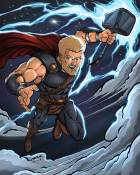 Thor Ragnarok - Fan Art Color