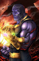 Thanos - The Mad Titan by robertmarzullo