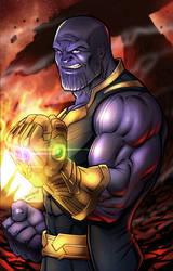 Thanos - The Mad Titan by robertmarzullo