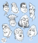 Character Design - Various Faces