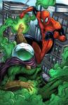 Spider-man VS Mysterio - Colored Version